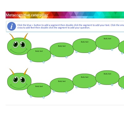 FP-KS2: Metacognitive caterpillar